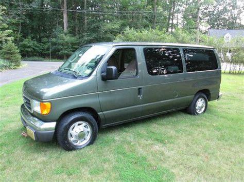 purchase   ford  econoline window xlt van