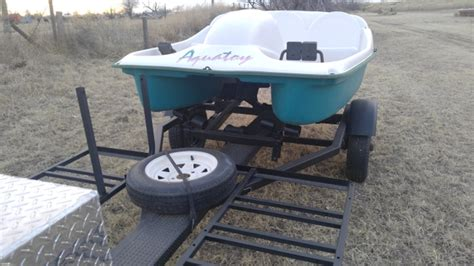 Paddle Boat Trailer by Paddle Boat And Trailer Nex Tech Classifieds