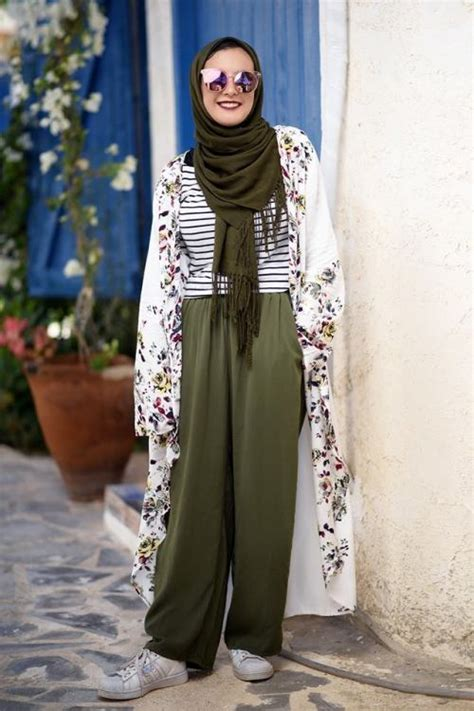style  olive green outfits  hijab
