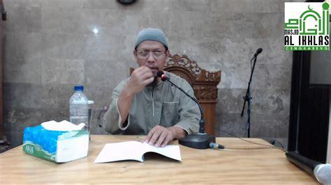 Ustadz Abu Ihsan Al Maydani, Lc, Ma, Tema Ya Allah Aku
