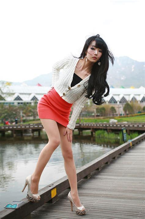 Korean Fashion Model Lee Ji Woo Beautiful Photo Shoot Hollywood Hair