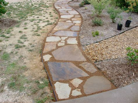 decomposed granite landscaping installation and ideas