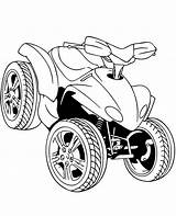 Coloring Quad Pages Printable Road Print Sheet Motorbikes Topcoloringpages Vehicle Motorcycle sketch template