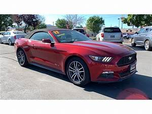 Pre-Owned 2017 Ford Mustang EcoBoost Premium Convertible in Reno #IR5904 | Rackley Auto Group Reno