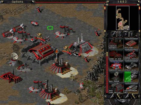 command conquer tiberian sun command conquer