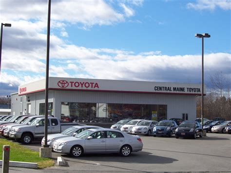 Central Toyota by Central Maine Toyota 15 Airport Rd Waterville Me Auto