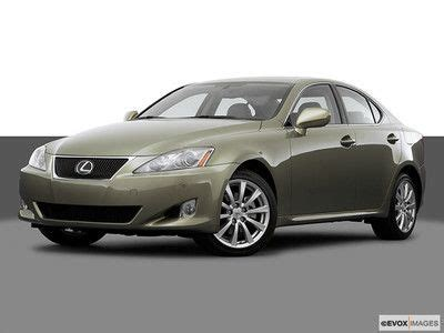 sporty lexus 4 door purchase used 2006 lexus is250 base sedan 4 door 2 5l