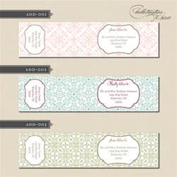 wedding guest address labels wedding address labels for guests