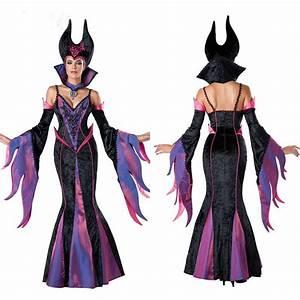 2017 Halloween Adult Costume Maleficent Sexy Adult Mermaid ...