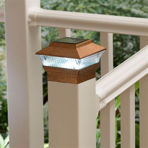 solar fence post light buy this
