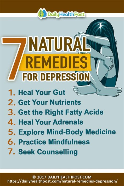 natural remedies  depression  anxiety  didnt