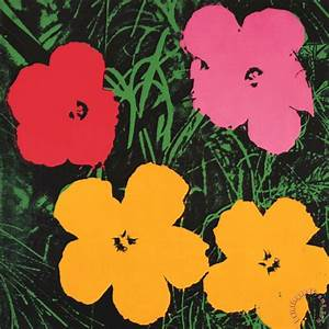 Warhol Flowers Painting - Life Style By Modernstork.com