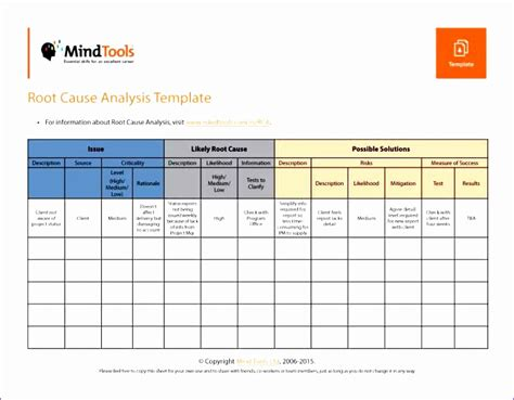 excel fishbone diagram template excel templates