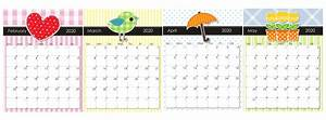 blank february march calendar 2020 pdf 2019 calendars