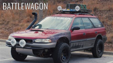 battlewagon   obnoxious outback  youtube