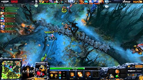 eg vici gaming 3 dota 2 asia chionships ld synderen youtube