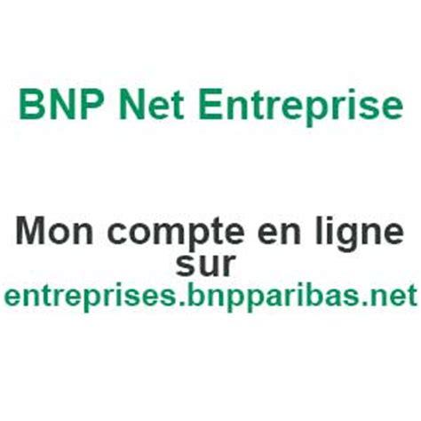 bnp entreprise compte en ligne sur entreprises