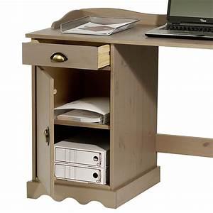 Schreibtisch Mit Aufsatz : schreibtisch mit aufsatz computertisch arbeitstisch kiefer massiv landhausstil ebay ~ Orissabook.com Haus und Dekorationen
