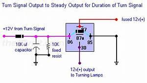 Relay For Turn Signal  Brake Priority