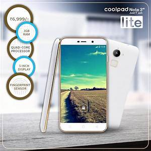 Coolpad Note 3 Lite With Fingerprint Sensor