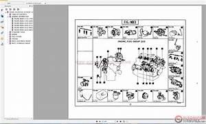 Toyota Forklift Equipments Parts Catalog Cd