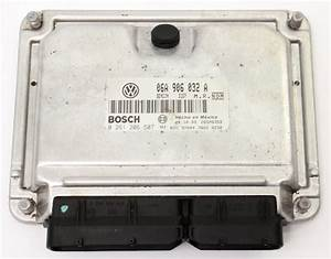Ecu Ecm Engine Computer 00-01 Vw Beetle 1 8t At