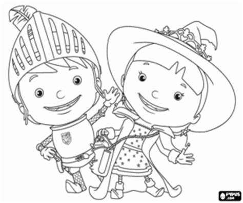 Mike The Knight Coloring Pages - Eskayalitim