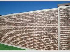 Prefabricated Brick Wall & Fence Panels AFTEC LLC