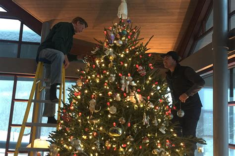 christmas tree set up service christmas decore
