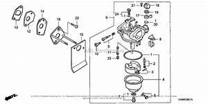 Honda Hr173 Pda Lawn Mower  Jpn  Vin  Ma2r