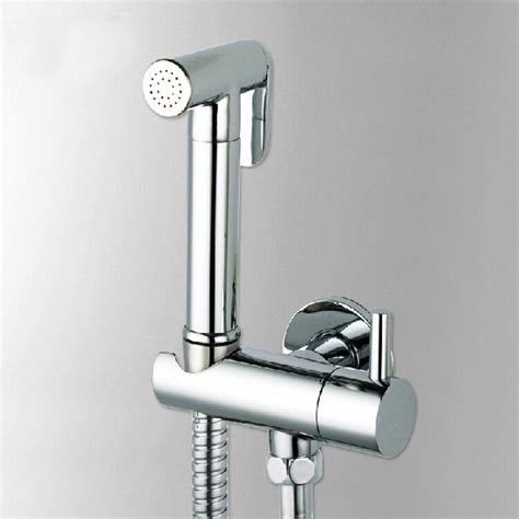Bidet Melbourne - brass toilet held bidet sprayer shattaf spray