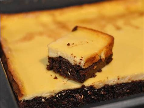 recette du brownies cheesecake un dessert quot duo quot qui cartonne