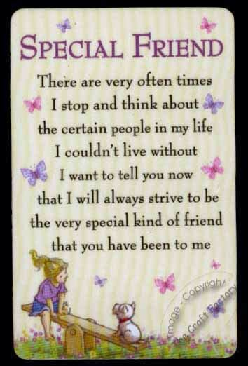 special friend quotes my best friend debbie she has always been there for me and