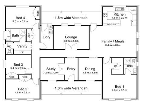 bedroom house floor plans  bedroom house  pool