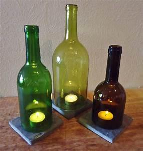 Basteln Mit Glasflaschen : basteln sie mit leeren weinflaschen wundersch ne ~ Watch28wear.com Haus und Dekorationen
