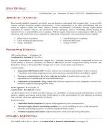 best resume for administrative position administrative assistant resume resume cv exle template