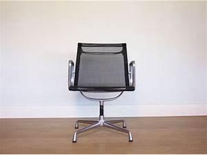 Eames Vintage Fauteuil Bureau Aluminium Chair