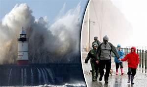 Severe Atlantic gale-force storms and downpours hurtling ...