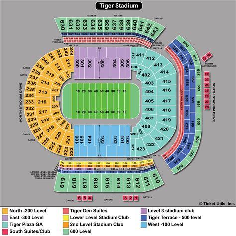 lsu tiger stadium seating chart foto bugil