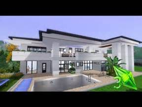 the sims 3 house designs modern elegance youtube