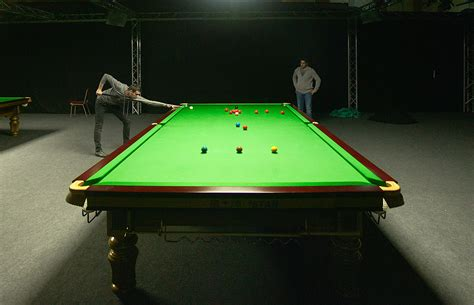 how many feet is a pool table snooker wikipedia