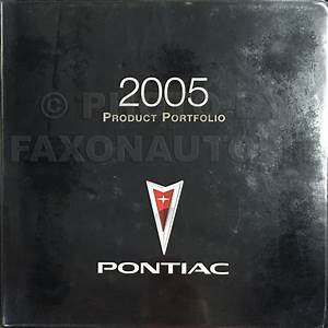 2005 Pontiac Grand Prix Repair Shop Manual Original 3