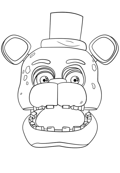 FNAF Coloring Pages - Coloring Home | 682x474
