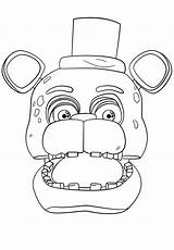 Pages Colouring Funtime Fnaf Fredy Freddy Nights Coloring Five Freddys Sheets Trending Days Last sketch template