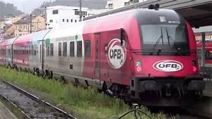 Obb Train  Austrian Railways  In Innsbruck