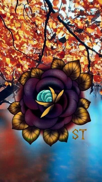 Zedge Traditional Wallpapers Autumn Tattoo Tattoos