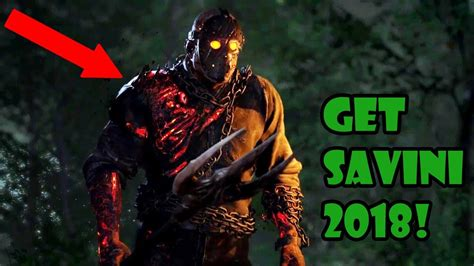 how to get savini jason in 2018 not free xbox only