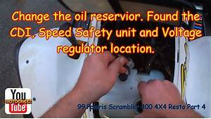 1999 Polaris Scrambler 500 Oil Capacity