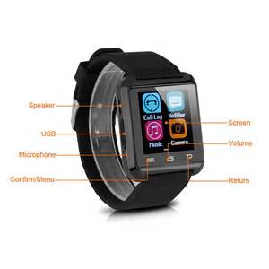 Bluetooth Smart Android Smartphone Wrist Watch For