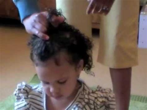 styling mixed race curly kids hair  original sprout youtube